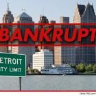 La mayor quiebra de EEUU: Detroit se declara en suspensión de pagos